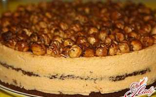 Торт с орехами и сгущенкой – универсальное лакомство