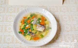 Суп рыбный из консервов: рецепты