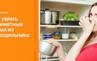 Как быстро избавиться от запаха в холодильнике в домашних условиях