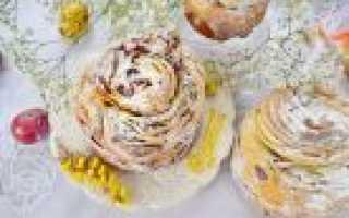 Пасхальные куличи: рецепты самые вкусные с фото