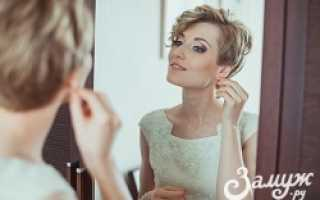 Свадебные прически на короткие волосы – многообразие выбора
