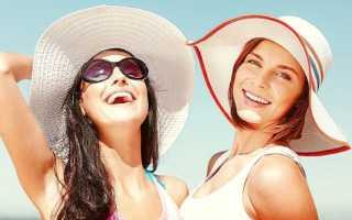 Летние головные уборы на пляже и на улице – что в моде