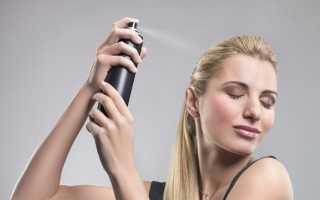Лак для волос – советы по выбору