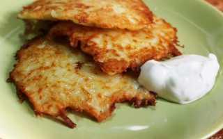 Драники картофельные: рецепт вкусного блюда