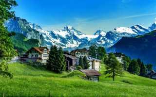 Достопримечательности: Швейцария зимой и летом