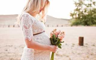 Свадебные платья для беременных – виды и как правильно подобрать