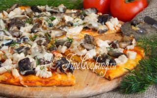 Пицца с курицей и грибами: особенности приготовления