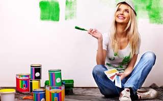 Как отмыть акриловую краску и отстирать пятно