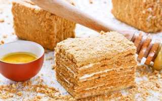 Медовый торт: рецепт десерта