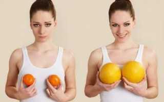 Упражнения для увеличения бюста – польза очевидна!