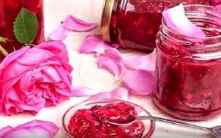 Варенье из лепестков роз – рецепты приготовления в домашних условиях