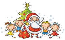 Новогодние стихи для детей 7, 8-9 лет, на утренник для Деда Мороза