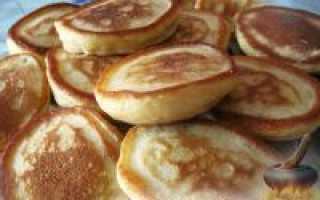 Рецепт оладушек на кефире: способ приготовления