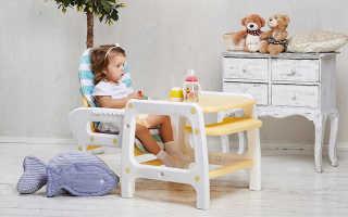 Как правильно выбрать стульчик для кормления малыша