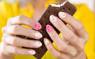 Маникюр на коротких ногтях может быть стильным!